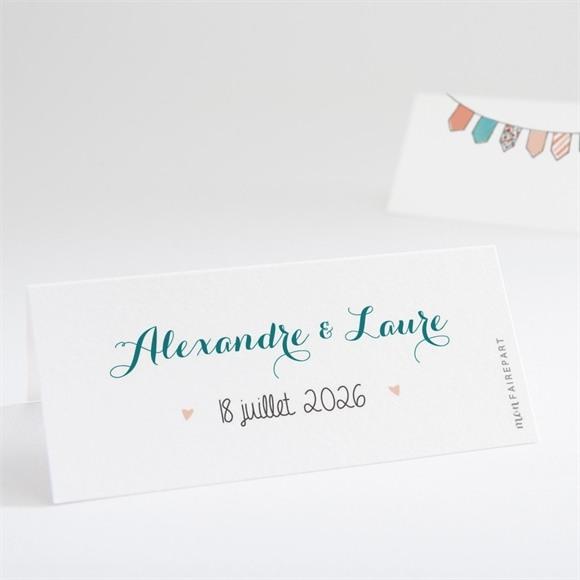 Marque-place mariage Bohème réf.N440667