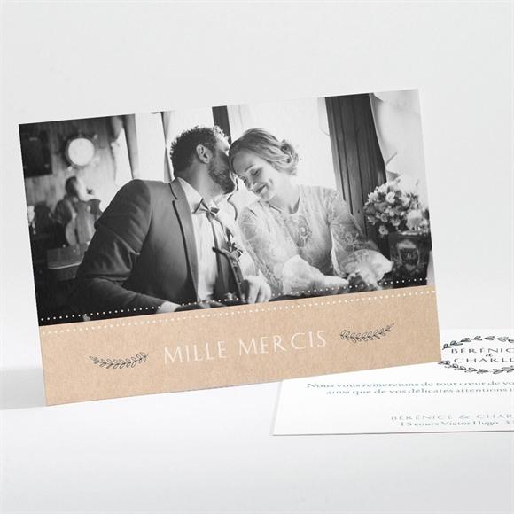 Remerciement mariage Douce mélodie réf.N111214