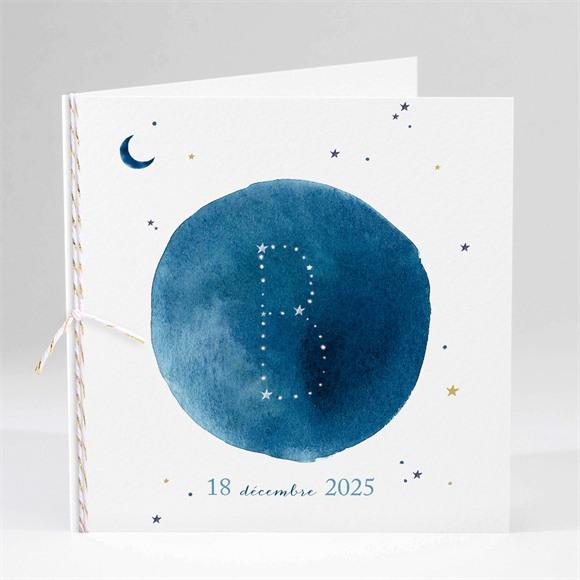 Faire-part naissance Nuit étoilée réf.N45198