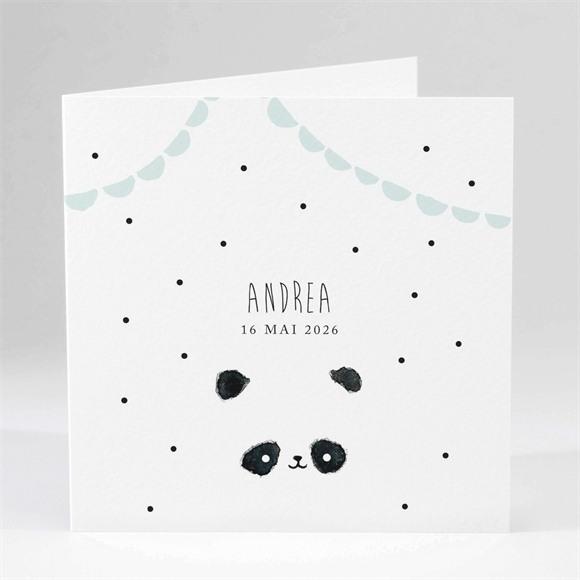 Faire-part naissance Mon joli Panda réf.N451100