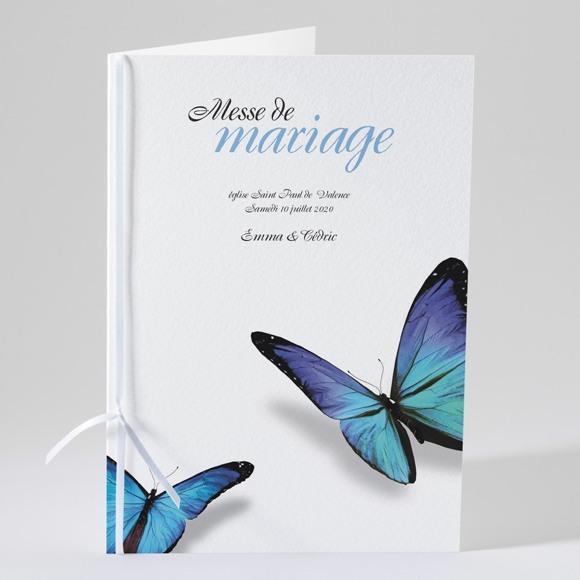 Livret de messe mariage Poétique et original réf.N49157