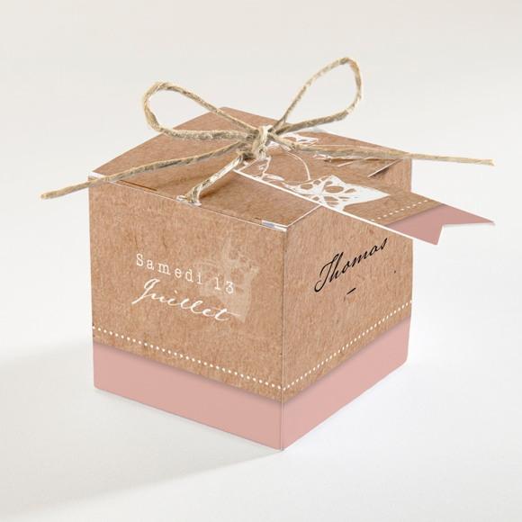 Boîte de dragées mariage Lierre grimpant réf.N340134