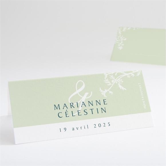 Marque-place mariage Gravure chic réf.N440673