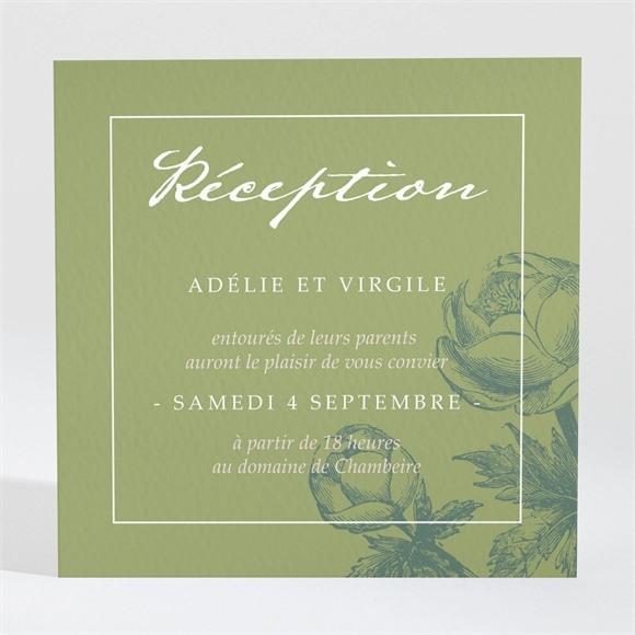 Carton d'invitation mariage Intemporel réf.N3001460