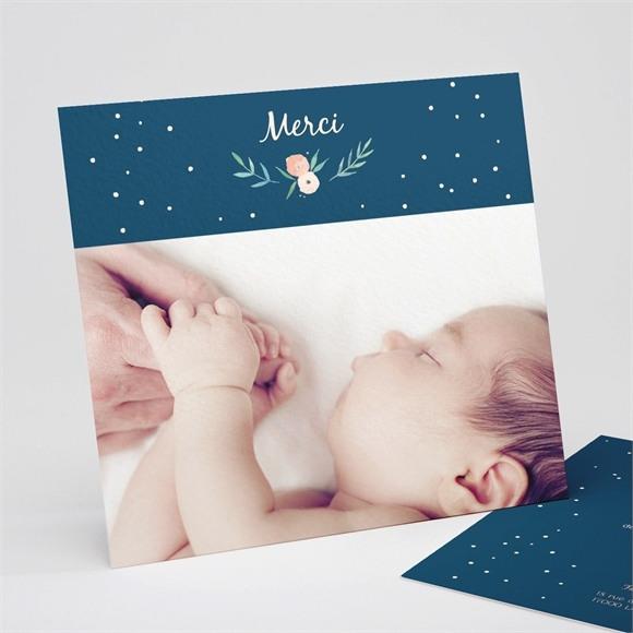 Remerciement naissance Belle Photo réf.N311225