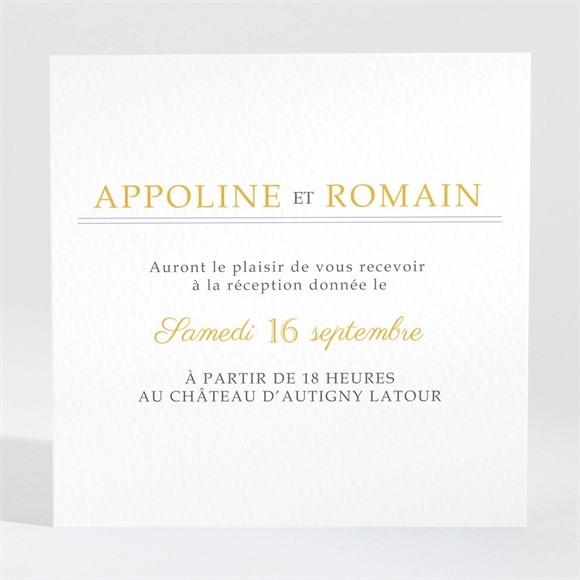 Carton d'invitation mariage Doux plaisir réf.N3001475