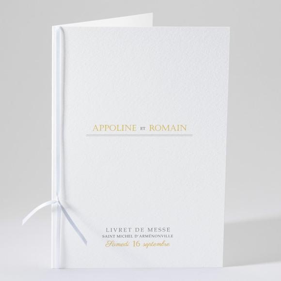 Livret de messe mariage Doux plaisir réf.N49168
