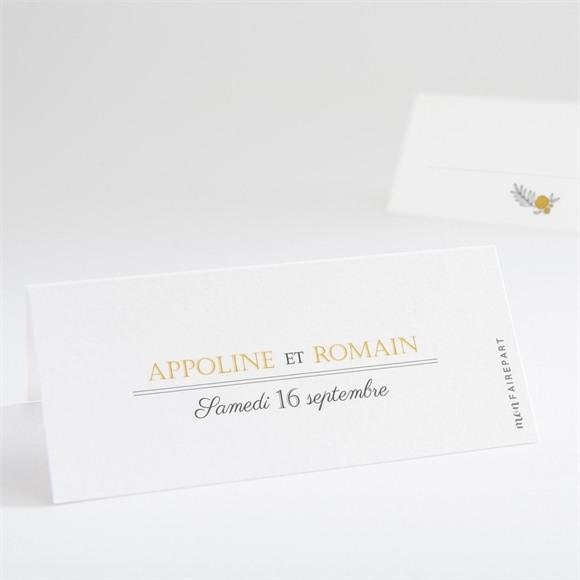 Marque-place mariage Doux plaisir réf.N440680