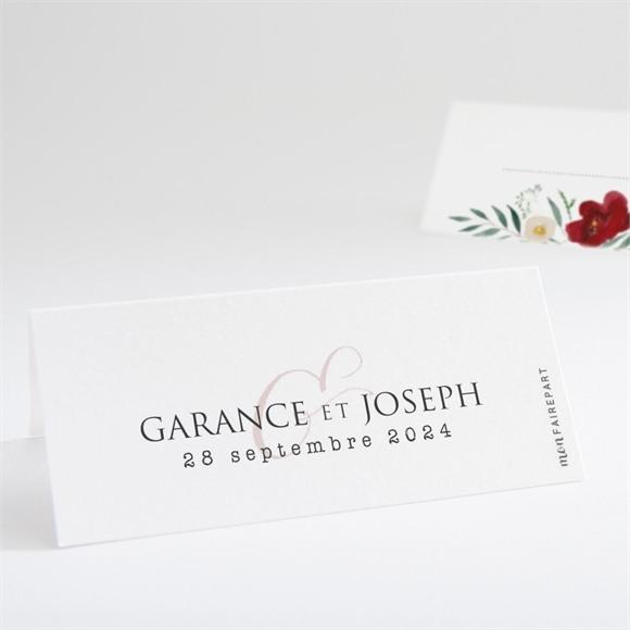 Marque-place mariage Jolis coquelicots réf.N440679