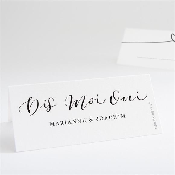 Marque-place mariage Dis moi Oui! réf.N440682