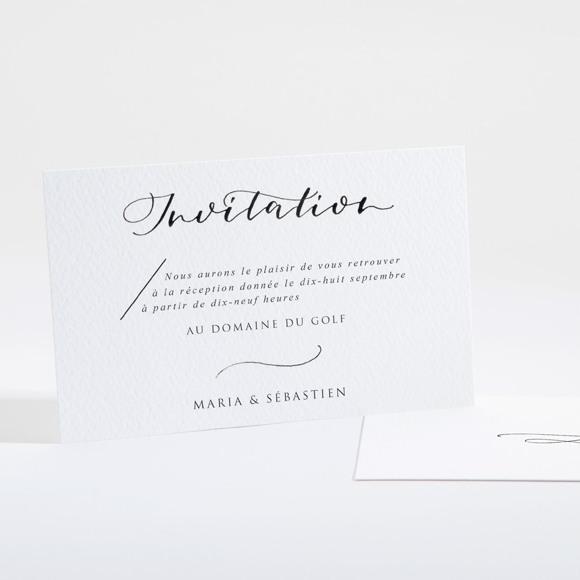 Carton d'invitation mariage Elle a dit Oui réf.N16111