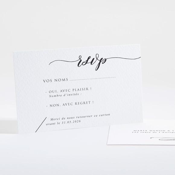 Carton réponse mariage Elle a dit Oui réf.N16112