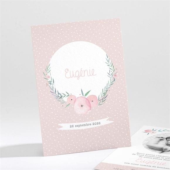Faire-part naissance Illustration florale réf.N211167