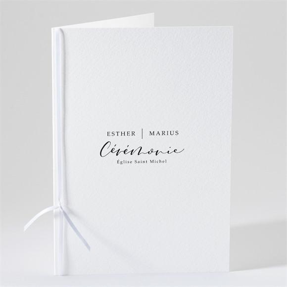 Livret de messe mariage Liés pour toujours réf.N49174