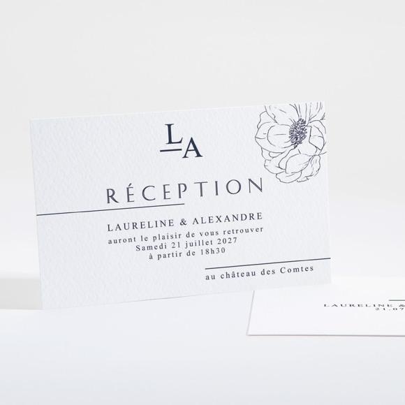 Carton d'invitation mariage Chic et moderne réf.N16115