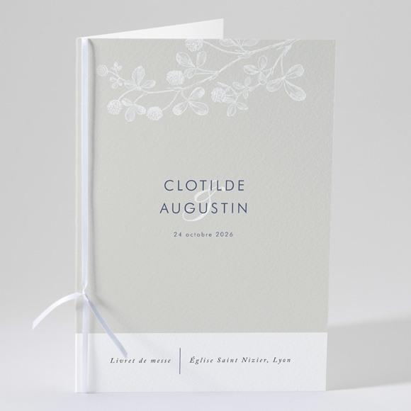 Livret de messe mariage Esperluette réf.N49176