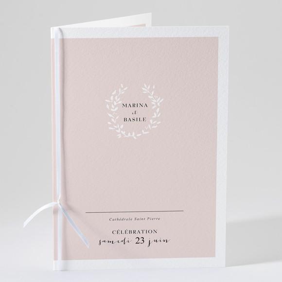 Livret de messe mariage Médaillon réf.N49178