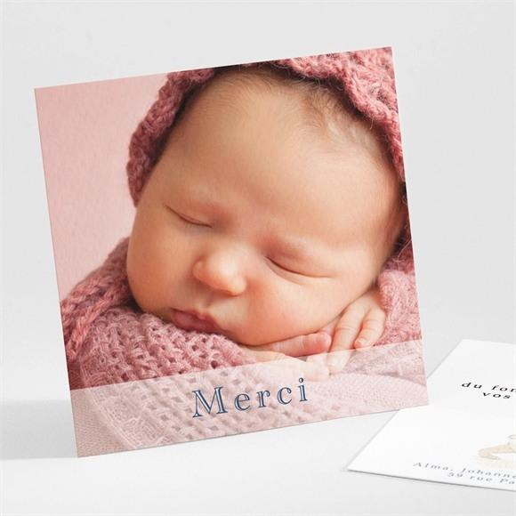 Remerciement naissance Bel Ours réf.N30172