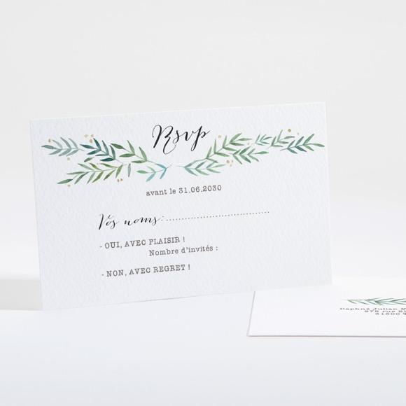 Carton réponse mariage Oui ! réf.N16134