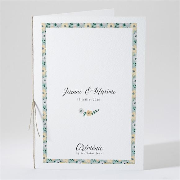 Livret de messe mariage Oui en relief réf.N49183
