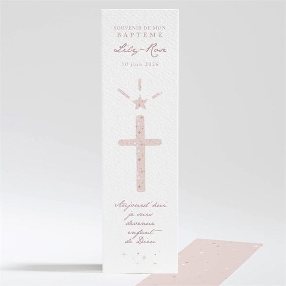Signet baptême Simple design réf.N20132