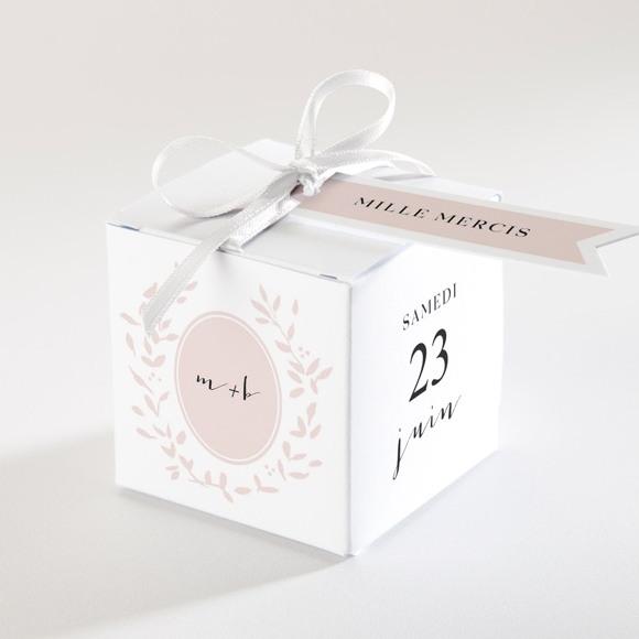 Boîte de dragées mariage Médaillon réf.N340156