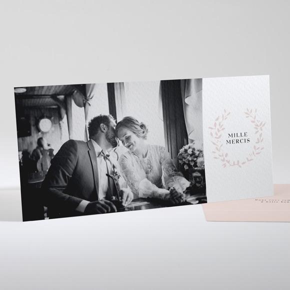 Remerciement mariage Médaillon réf.N13184