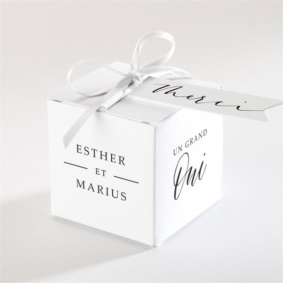 Boîte de dragées mariage Liés pour toujours réf.N340162