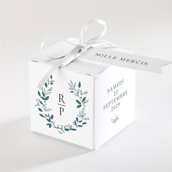 Boîte de dragées mariage Belle couronne réf.N340163