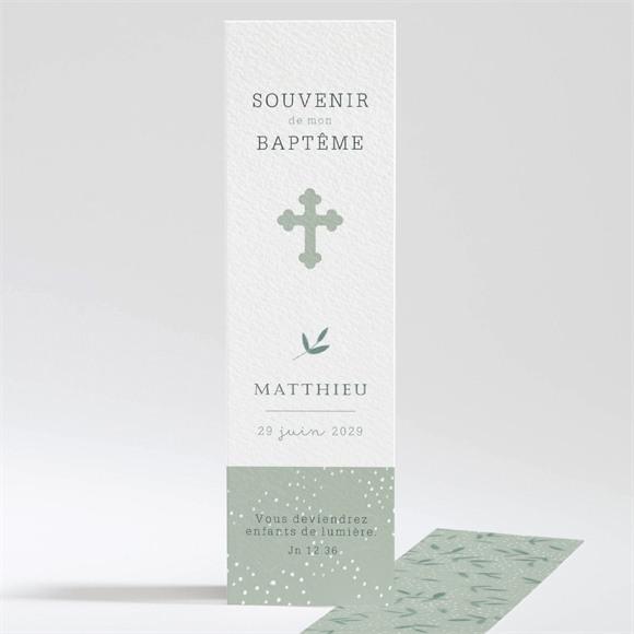 Signet baptême Gravure vintage réf.N20144