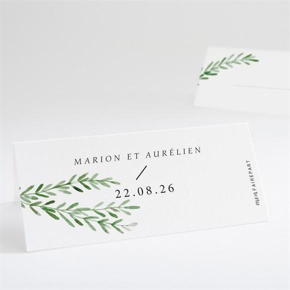 Marque-place mariage Branche d'amour réf.N440719