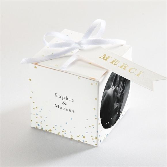 Boîte de dragées mariage réf. N340195 réf.N340195