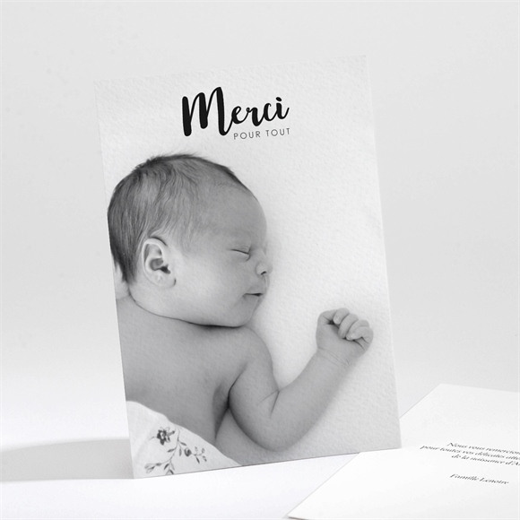 Remerciement naissance Hello Little Boy réf.N211203