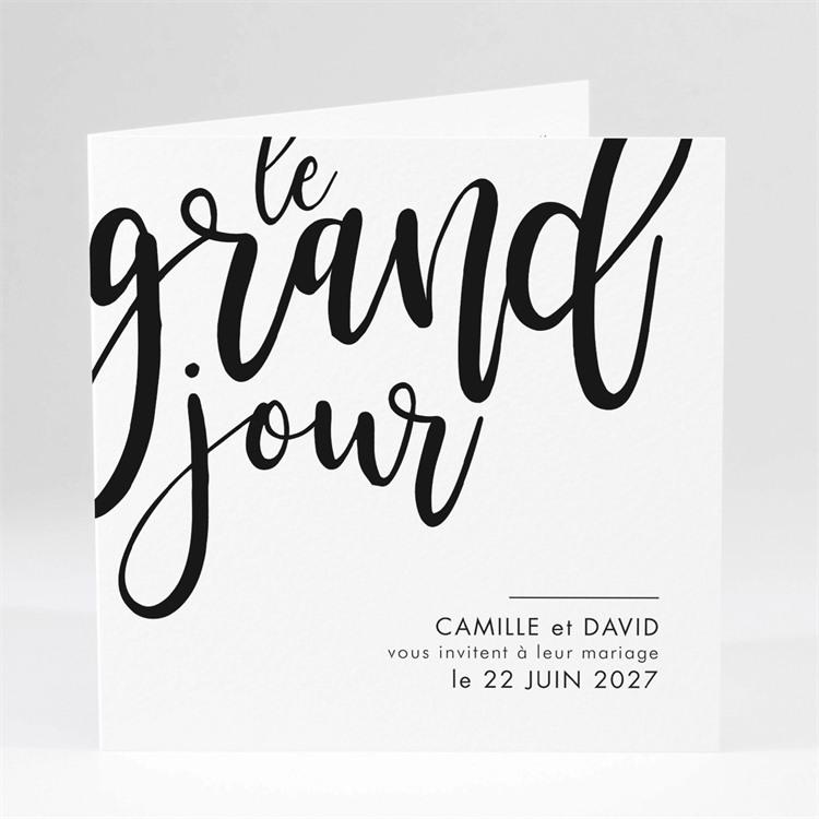Faire-part mariage Le Grand Jour réf.N46102