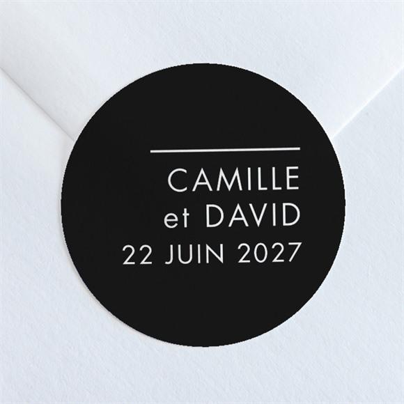 Sticker mariage Le Grand Jour réf.N36002