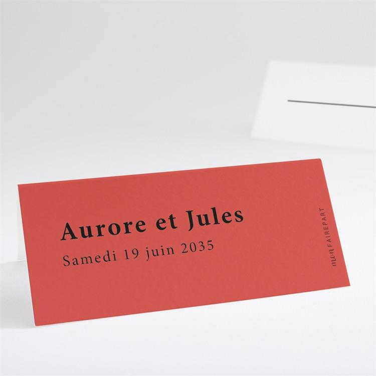 Marque-place mariage Enlacés réf.N440723