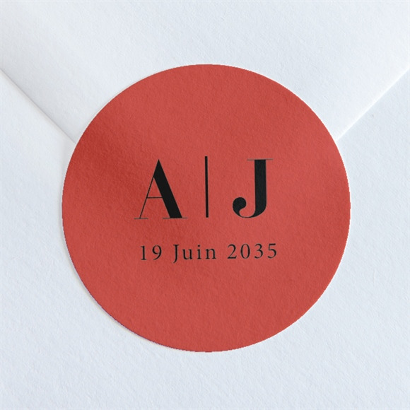 Sticker mariage Enlacés réf.N36004