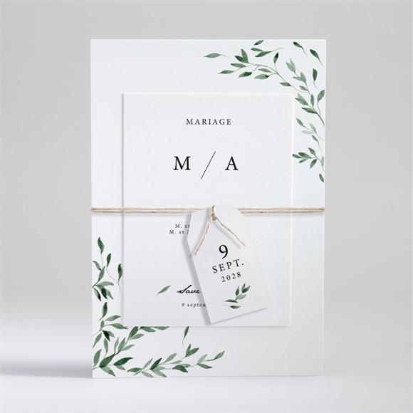 Faire-part mariage A l'ombre de l'olivier réf.N99104
