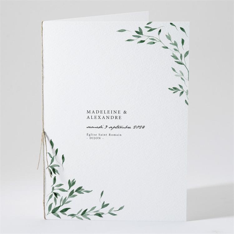 Livret de messe mariage A l'ombre de l'olivier réf.N491113