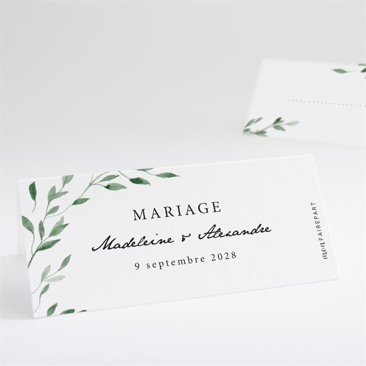 Marque-place mariage A l'ombre de l'olivier réf.N440725