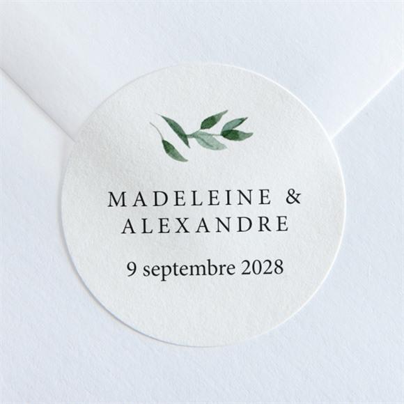 Sticker mariage A l'ombre de l'olivier réf.N36006