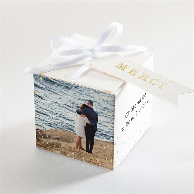 Boîte de dragées mariage Tendresse réf.N340204