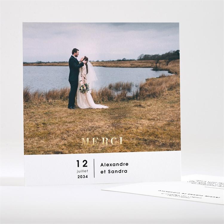 Remerciement mariage Tendresse réf.N35113