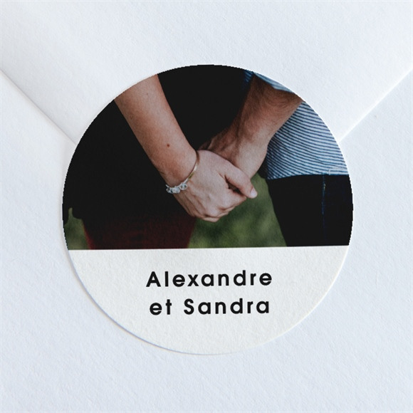 Sticker mariage Tendresse réf.N36003
