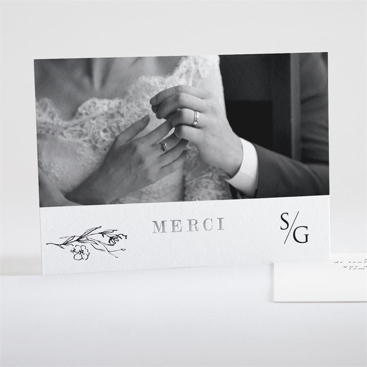 Remerciement mariage Délicate ficelle réf.N18117