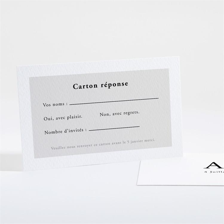 Carton réponse mariage Que je t'aime réf.N16147