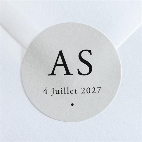 Sticker mariage Que je t'aime réf.N36009