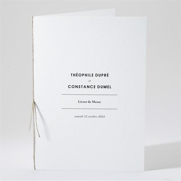 Livret de messe mariage Précieux cadeau réf.N491121