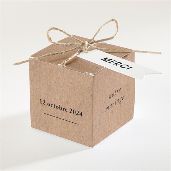 Boîte de dragées mariage Précieux cadeau réf.N340215