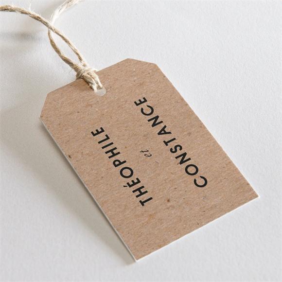 Etiquette mariage Précieux cadeau réf.N29108